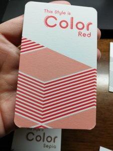 color表面